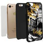 Missouri Tigers PD Spirit Hybrid Case for iPhone 7/8 with Guard Glass Screen Protector
