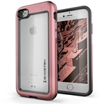 Ghostek Atomic Slim Rugged Heavy Duty Case for iPhone 8 & iPhone 7 - Pink