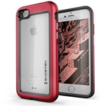 Ghostek Atomic Slim Rugged Heavy Duty Case for iPhone 8 & iPhone 7 - Red
