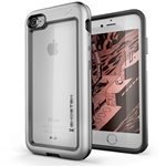 Ghostek Atomic Slim Rugged Heavy Duty Case for iPhone 8 & iPhone 7 - Silver