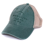 59b4ca53a7ace Missouri Tigers Juniors  Dark Green Trucker Hat