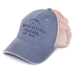 1599a0401a7 Missouri Tigers Juniors  Light Blue Trucker Hat