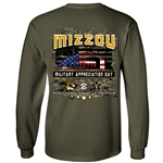 Missouri Tigers vs Vanderbilt 2018 Military Appreciation Official Game Day Shirt