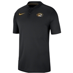 Mizzou Nike&reg Oval Tiger Head Black Polo