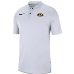 Mizzou Nike&reg Oval Tiger Head White Polo