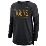 Mizzou Tigers Nike&reg Juniors' Black Crew Neck Shirt