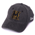 Mizzou Vintage Faded Black Adjustable Hat