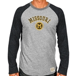 Missouri Classic Collection Grey Crew Neck Shirt 5ed4cc801