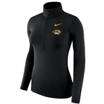 Mizzou Nike&reg Juniors' Black Athletic Sweatshirt