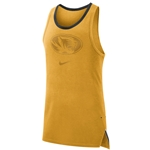 Mizzou Nike&reg Gold Athletic Tank Top