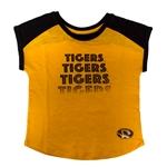 9162ac501 Mizzou Tigers Toddler Black   Gold Crew Neck T-Shirt