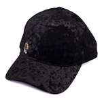 Mizzou Juniors' Tiger Head Black Velvet Adjustable Hat