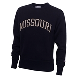 Missouri Navy Blue Crew Neck Sweatshirt