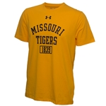 Missouri Tigers Under Armour Gold Athletic T-Shirt b6199ab12