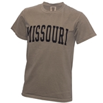 Missouri Comfort Colors Tan Crew Neck T-Shirt