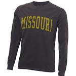 Missouri Comfort Colors Black Crew Neck Shirt
