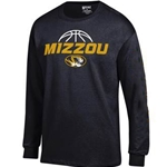 Mizzou Basketball Black Crew Neck Shirt 3bdfa1fc8