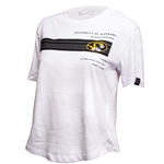 Mizzou Juniors' Under Armour Oval Tiger Head Striped T-Shirt