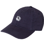 Mizzou Embroidery Tiger Head Navy Relaxed Twill Hat