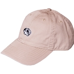 Mizzou Embroidery Tiger Head Tan Relaxed Twill Hat