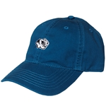 Mizzou Embroidery Tiger Head Marine Blue Relaxed Twill Hat