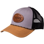 Missouri Tigers Est. 1839 Faux Leather Detail Tri-Colored Trucker Hat