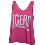 Mizzou Tigers Juniors' Hot Pink Tank Top