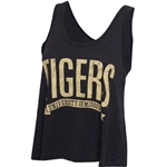 Mizzou Tigers Juniors' Grey Tank Top