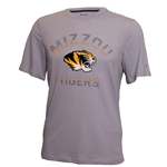 Mizzou Tigers  Champion Grey Athletic T-Shirt