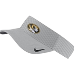 Mizzou Nike® Oval Tiger Head Grey Visor