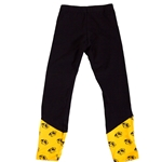 Mizzou Tiger Head Black and Gold Leggings