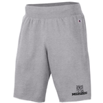 Mizzou Champion Retro Tiger Logo Grey Shorts