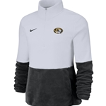 Mizzou Nike® 2019 Women's Therma Plush 1/2 Zip Oval Tiger Head Jacket