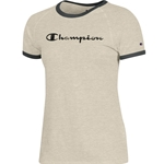 Champion Off White Ringer T-Shirt
