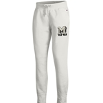 Mizzou Champion Block M Junior's White Jogger Sweatpants