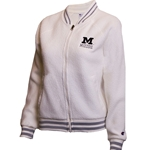 Mizzou Block M Champion Junior's Sherpa Off White Jacket