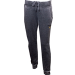 Mizzou Tiger Head Junior's Charcoal Grey Sweatpants