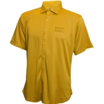 Mizzou Columns Dotted Lines Gold Polo
