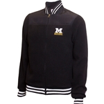 Mizzou Block M Men's Black Full Zip Sherpa Jacket