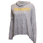 Mizzou Light Grey Cowl Neck Jacket
