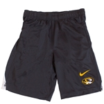 Mizzou Nike® Oval Tiger Head Grey and White Shorts