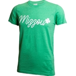 Mizzou Shamrock Heather Green T-Shirt