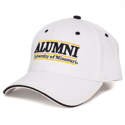 University of Missouri Alumni White Adjustable Hat