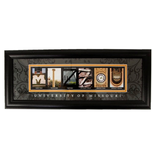 Mizzou Matted & Framed Print