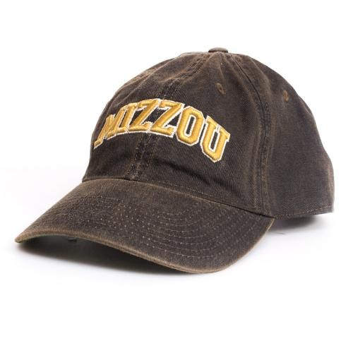 Mizzou Vintage Black Adjustable Hat