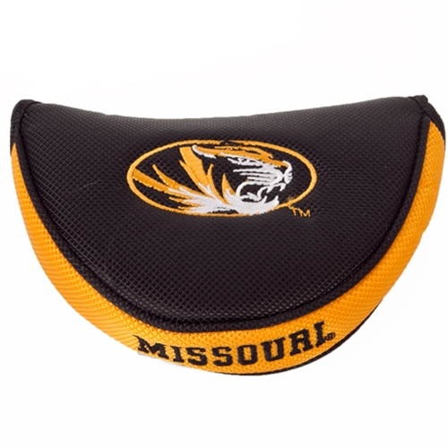 Missouri Oval Tiger Head Mallet Putter Cover