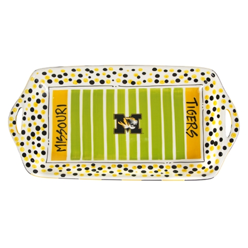 Missouri Tigers Stadium Platter