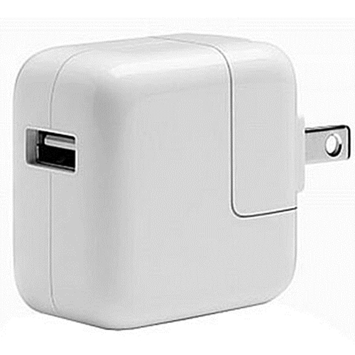 Wall Plug for iPad and iPhone Apple 12W USB Power Adapter MD836LL//A White