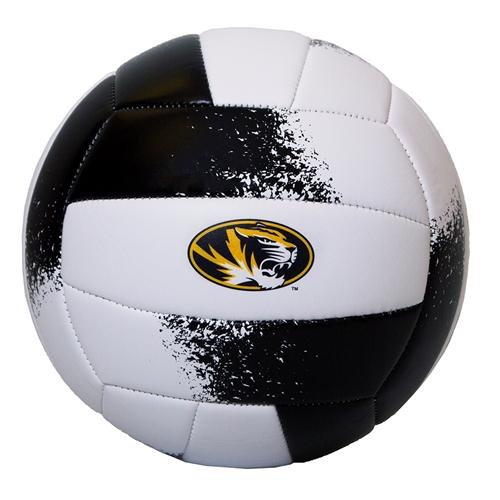 f5e8bdb090 The Mizzou Store - Mizzou Oval Tiger Head Black & Gold Volleyball