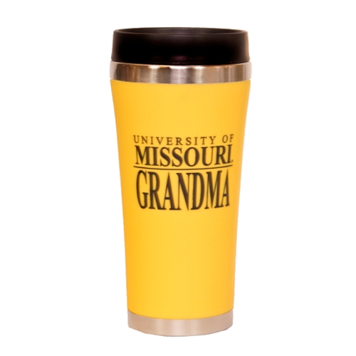 University of Missouri Grandma Gold Travel Mug
